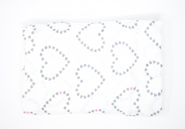 Dotted heart Swaddle