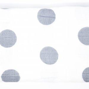 Gray Dot Swaddle