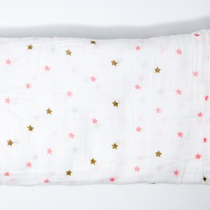 Pink Star Swaddle